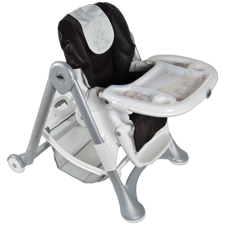 Купить 12357364, CAM Стульчик для кормления Campion Elegant S2300, цвет С205/36 Brown Leatharatte [С205/36], Стульчики для кормления малышей