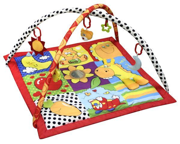 Купить MERX Коврик развивающий игровой Летняя пора , 85х64х7 см [MXR0058], Развивающие игрушки для малышей