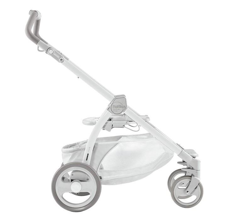 Купить PEG-PEREGO Шасси Book Plus (к сиденьям PURE LUNA и PURE MEDITERRANEA), цвет: white/белый, пластик, алюминий, Италия, Детские коляски