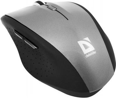 Купить Беспроводная мышь Defender Pulsar 655 Grey USB, Серый, Китай