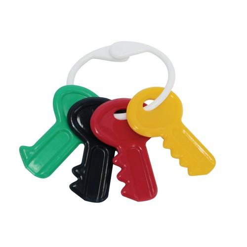 Купить LUBBY Прорезыватель-погремушка Lubby Ключи [4629], полипропилен, Таиланд, Погремушки и прорезыватели