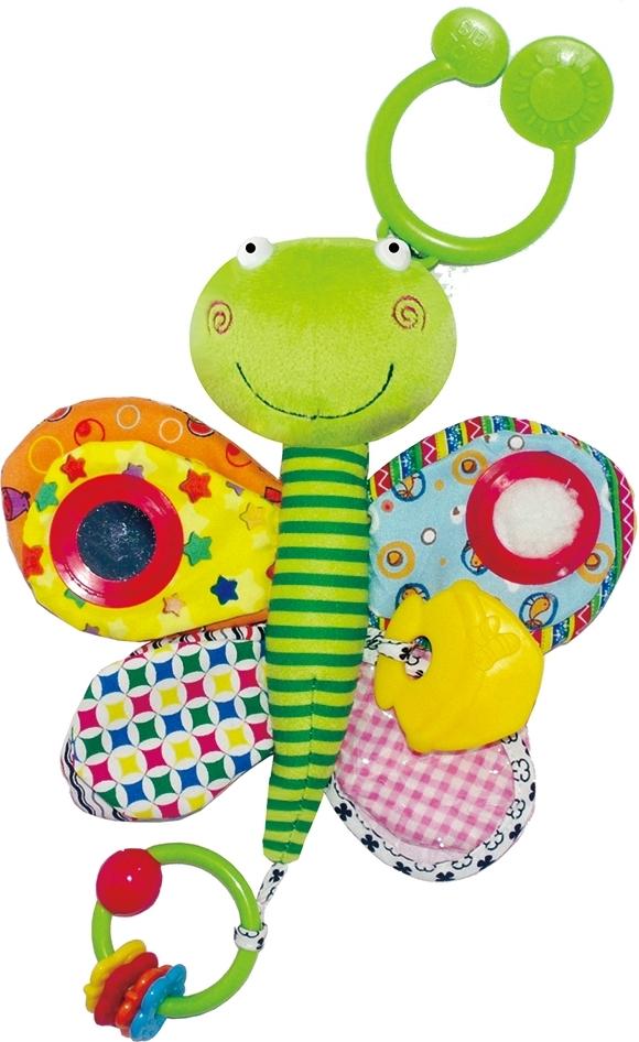 Купить BIBA TOYS Мягкая игрушка-подвеска БАБОЧКА, дл. 30 см, [GD024D], Подвески для малышей