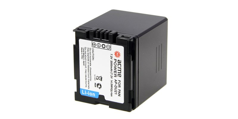 Купить Аккумулятор Acmepower AP-DU21 для Panasonic (7.2V, 2000 mAh, Li-ion), Китай