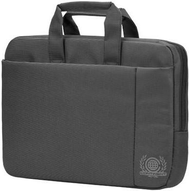 Купить Сумка для ноутбука 15, 6 Continent CC-215 GR, Горизонтальная сумка, Серый