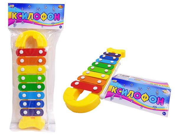 Купить DOREMI Ксилофон для малышей DoReMi [D-00052(WL-6031)], Металл, Детские музыкальные инструменты