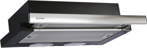 Кухонная вытяжка ELIKOR Интегра 50П-400-В2Л черный/нержавейка фото