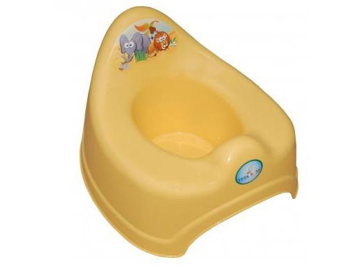 Купить TEGA Детский горшок Сафари , желтый [УТ0009062], Желтый, пластик, Горшки и детские сиденья на унитаз