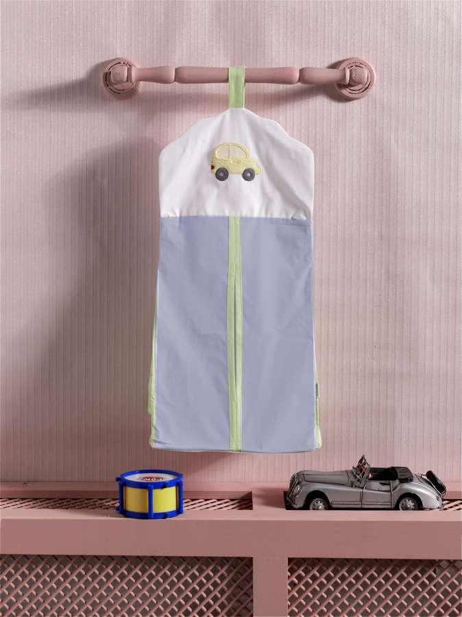 Купить KIDBOO Прикроватная сумка Traffic Jam (30x65 см) [00-0013000], 100% полиэстер/ 100% хлопок, Для мальчиков и девочек, Принадлежности для хранения игрушек