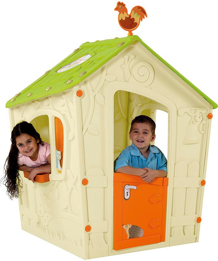 Купить KETER Игровой Дом MAGIC ВОЛШЕБНЫЙ С ПЕТУШКОМ [17185442], Детские игровые домики и палатки