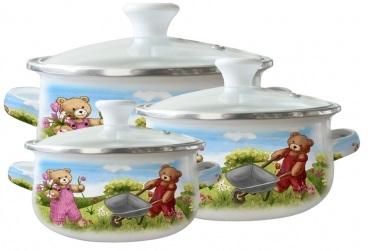 Набор посуды ZEIDAN Z-80611-01,  6 предметов