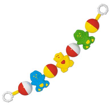 Купить СТЕЛЛАР Погремушка подвеска на коляску Африка [01531/C], Россия, Подвески для малышей