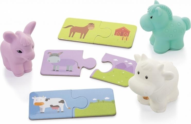Купить ОГОНЕК Увлекательная география №1 (лошадка, ослик, коровка) [С-1450о], Развивающие игрушки для малышей