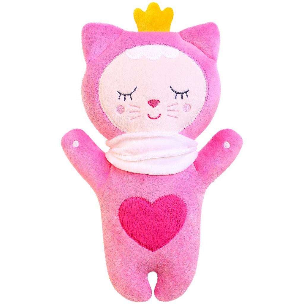 Купить Мягкая игрушка МЯКИШИ 434 Sleepy Toys Котёнок, Плюш, синтепух, фактурная вышивка, Для мальчиков и девочек, Россия, Развивающие игрушки для малышей