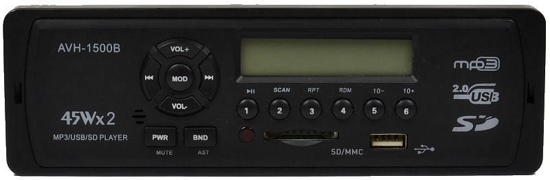 Автомагнитола ACES AVH-1500B
