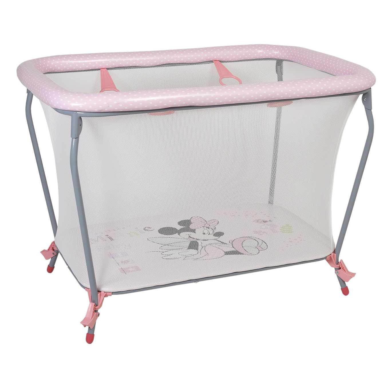 Купить POLINI Манеж Polini kids Disney baby Classic Минни Маус , розовый, Манежи для малышей