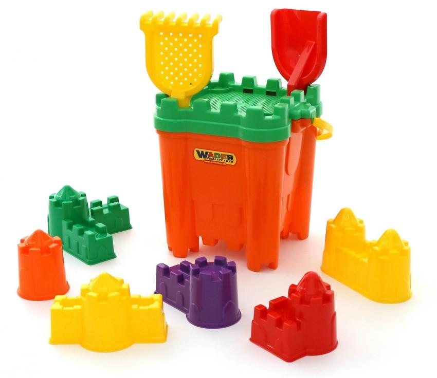 Купить ПОЛЕСЬЕ Набор для песочницы №470 [45140P], в ассортименте, пластмасса, Детские наборы в песочницу