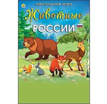 Купить РЫЖИЙ КОТ Мини-игра Животные России [ИН-6404 ], Настольные игры