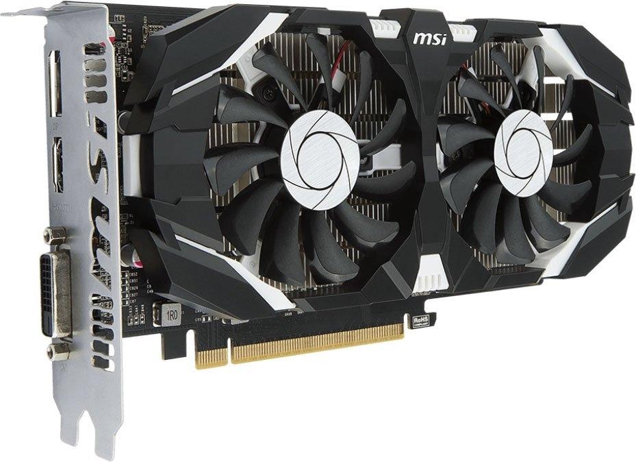 Видеокарта nVidia GeForce GTX1050 Ti MSI PCI-E 4096Mb (GTX 1050 TI 4GT OCV1)