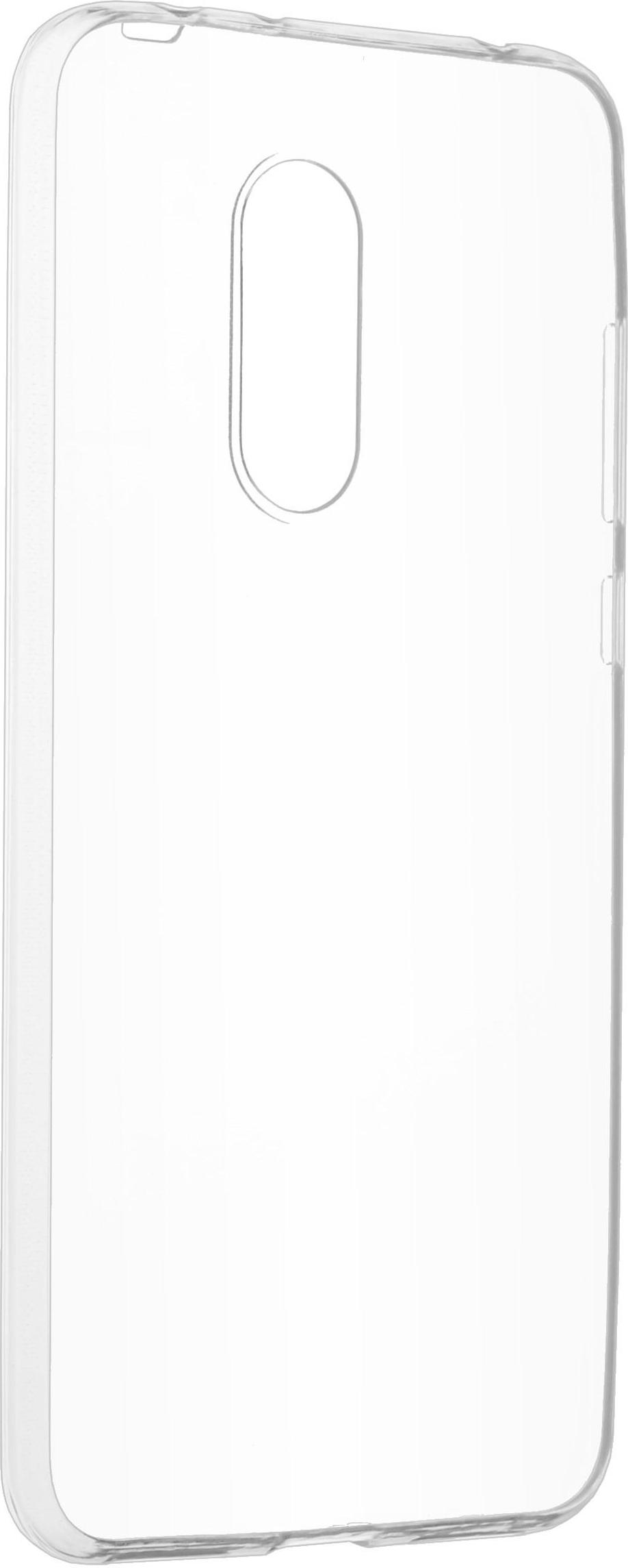 Накладка skinBOX slim silicone для Xiaomi Redmi 5 Plus (Цвет-прозрачный), T-S-XR5P-006 фото