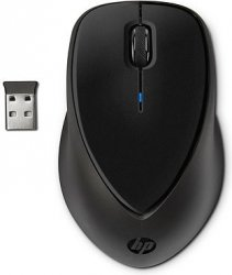 Беспроводная мышь  HP Wireless Comfort Grip Black (H2L63AA)