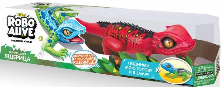 Купить Игрушка роботизированная ящерица Zuru Robo Alive(Красная) [Т10994], Для мальчиков и девочек, Развивающие игрушки для малышей