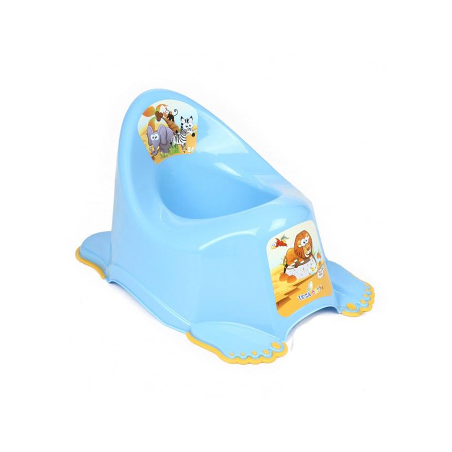 Купить ТЕГА Детский горшок антискользящий SAFARI (САФАРИ) [SF-011], Польша, Горшки и детские сиденья на унитаз