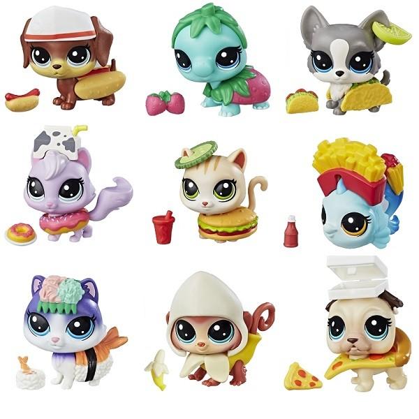 Купить HASBRO Pet Shop. Набор игровой Пет в консервной баночке ( 10 петов) [E5216EU4], Игровые наборы и фигурки для детей
