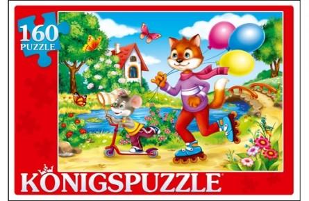 Купить KÖNIGSPUZZLE Пазлы Konigspuzzle. Сказка №70 , 160 элементов [ПК160-6118/РК], Königspuzzle, Картон