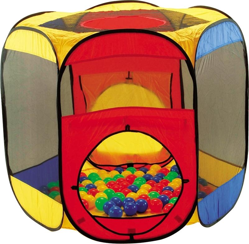 Купить CALIDA Дом + 100 шаров МНОГОУГОЛЬНИК (122х105х97см) [621], Детские игровые домики и палатки