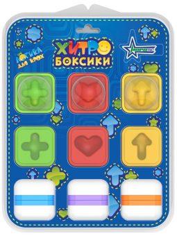 Купить НОРДПЛАСТ Логическая игра Хитробоксики [855H], Россия, Сортеры для малышей