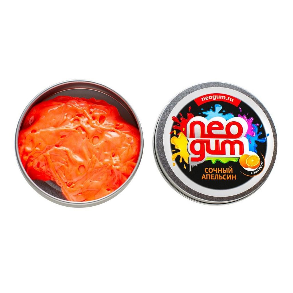Купить Игра NEO GUM NG7026 Жвачка для рук Сочный апельсин с запахом, Силиконовая стружка, силиконовое масло, Для мальчиков и девочек, Игровые наборы и фигурки для детей