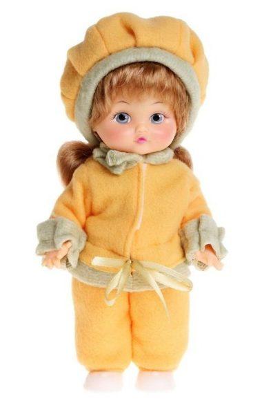 Купить МИР КУКОЛ Кукла Женечка озвуч пак 30 см [СА30-22], пластик, Текстиль, Для девочек, Россия, Куклы и пупсы
