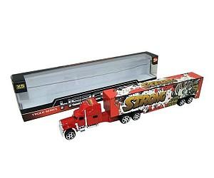 Купить JUNFA TOYS Инерционный грузовик [1078], Пластик, металл, Китай, Игрушечные машинки и техника