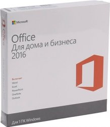 Microsoft Office 2016 Home and Business Russia Only DVD No Skype