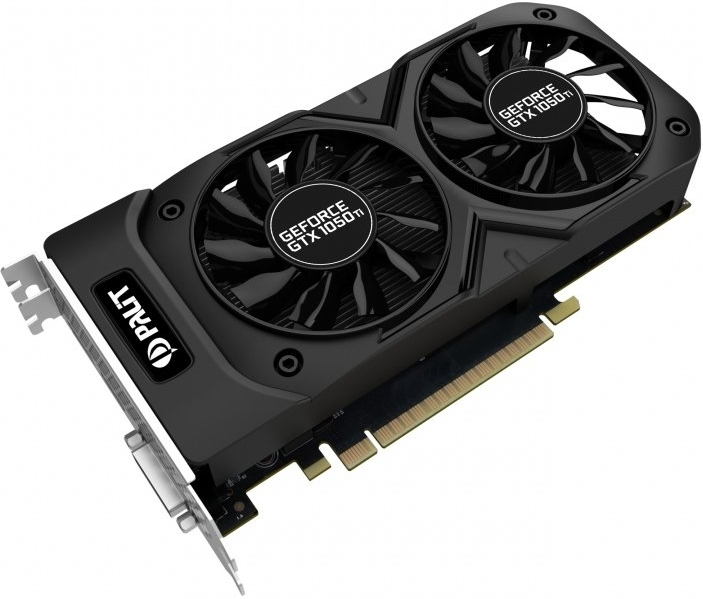 Видеокарта nVidia GeForce GTX1050 Ti Palit Dual OC PCI-E 4096Mb (NE5105TS18G1)