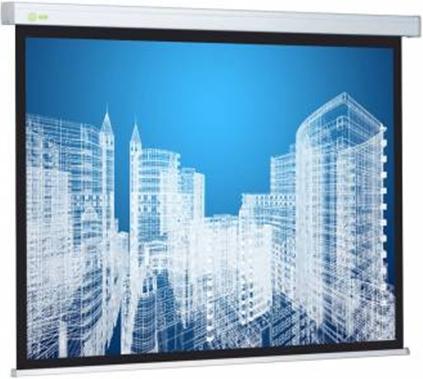 Экран Cactus 183x244см Wallscreen CS-PSW-183x244 4:3 настенно-потолочный рулонный белый фото