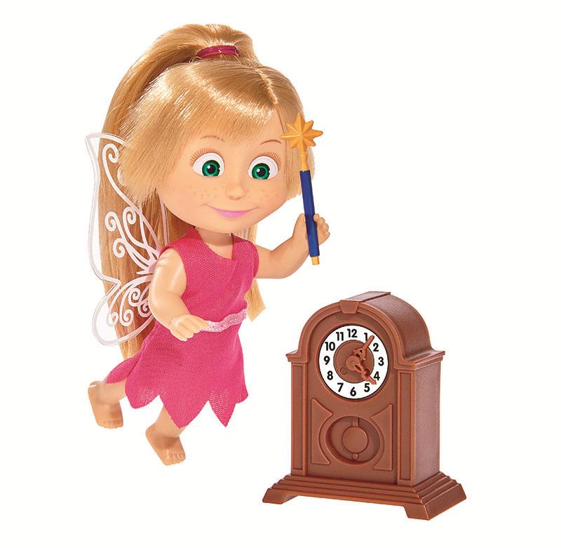 Купить Кукла SIMBA 9308239 Маша в костюме феи, пластик, ПВХ, Текстиль, Для девочек, Китай, Куклы и пупсы