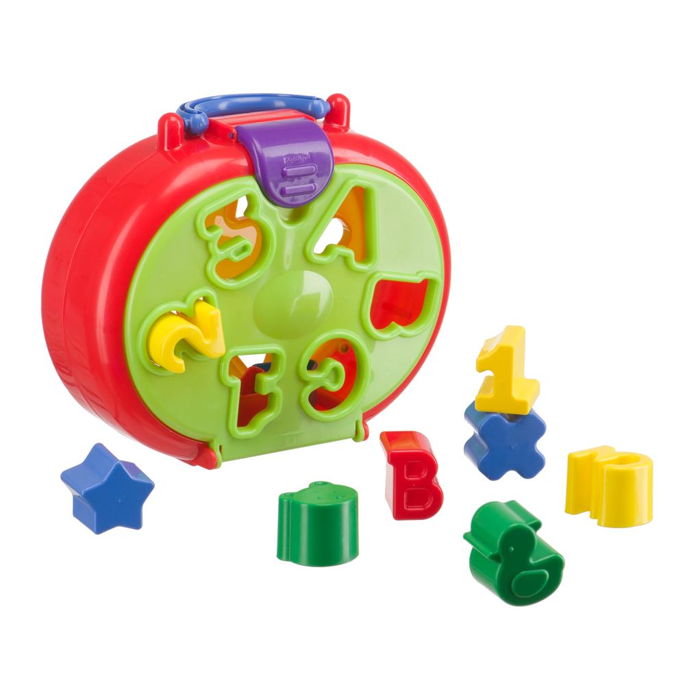 Купить Сортер HAPPY BABY 331840 IQ-SORTER, полипропилен, Для мальчиков и девочек, Китай, Сортеры для малышей
