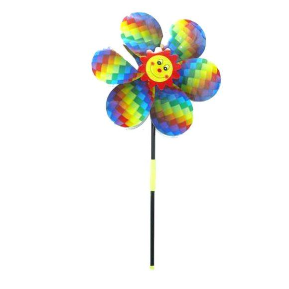 Купить НАША ИГРУШКА Вертушка Яркое лето , 52 см [6803A], Наша игрушка, Разноцветный, пластик, фольга, Спортивные игры и игрушки для улицы
