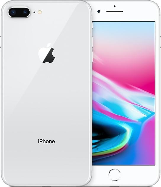 Смартфон Apple iPhone 8 Plus 256Gb (MQ8Q2RU/A) Silver