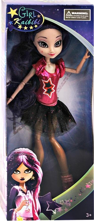 Купить КУКЛЫ KAIBIBI Кукла с аксессуарами, шарнирные руки и ноги, высота 27 см., в/к 12*31*5 см [ZY591604], Куклы и пупсы