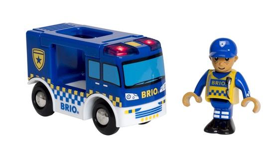 Купить Полицейская машина BRIO [33825], Для мальчиков и девочек, Игрушечные машинки и техника