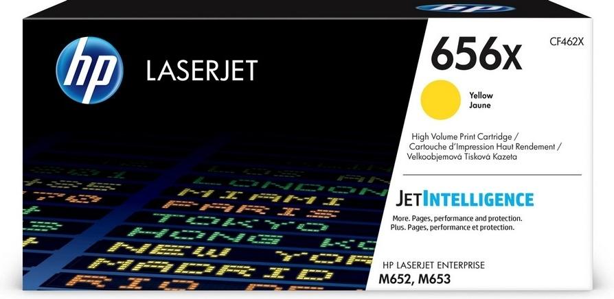 Лазерный картридж HP 656X (CF462X) Yellow 656X Yellow фото