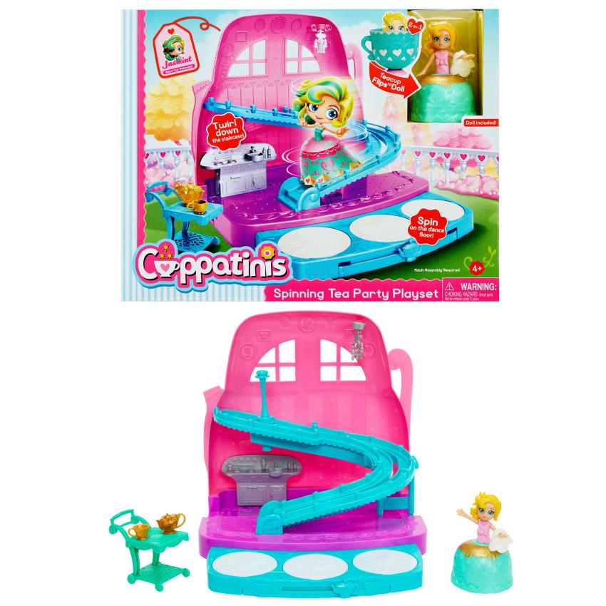 Купить 1 TOY Кукла Cuppatinis. Jasmint , с аксессуарами, 10 см [Т10611], пластик, Для девочек, Китай, Куклы и пупсы