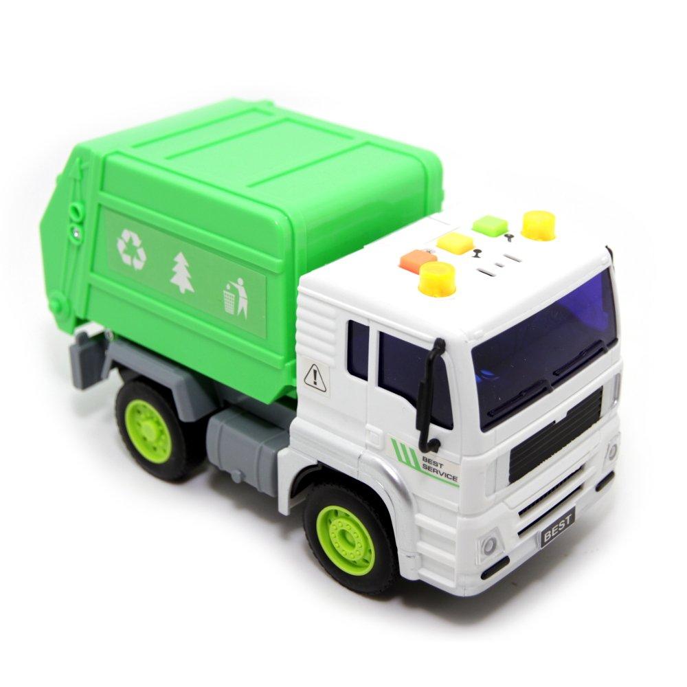 Купить Машина пластиковая BALBI Мусоровоз инерционный [PT-005-F], Для мальчиков, Китай, Игрушечные машинки и техника