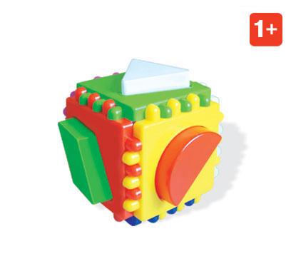 Купить СТЕЛЛАР Логический кубик [01314/C], Сортеры для малышей