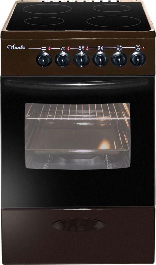 Плита электрическая Лысьва ЭПС 411 МС коричневая фото