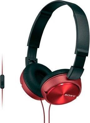 Купить Наушники Sony MDR-ZX310AP Red, Красный, Китай