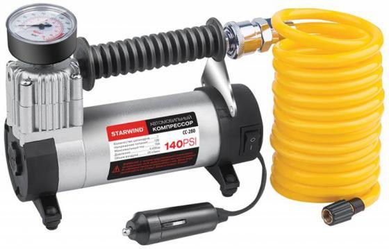 Автомобильный компрессор Starwind CC-280 35л/мин шланг 3м