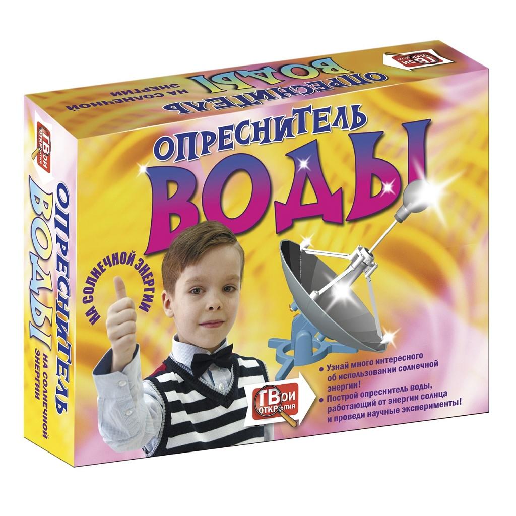 Купить Набор для опытов НОВЫЙ ФОРМАТ 80806 Опреснитель воды на солнечной энергии, пластик, Бумага, Картон, Для мальчиков и девочек, Детские наборы для исследований
